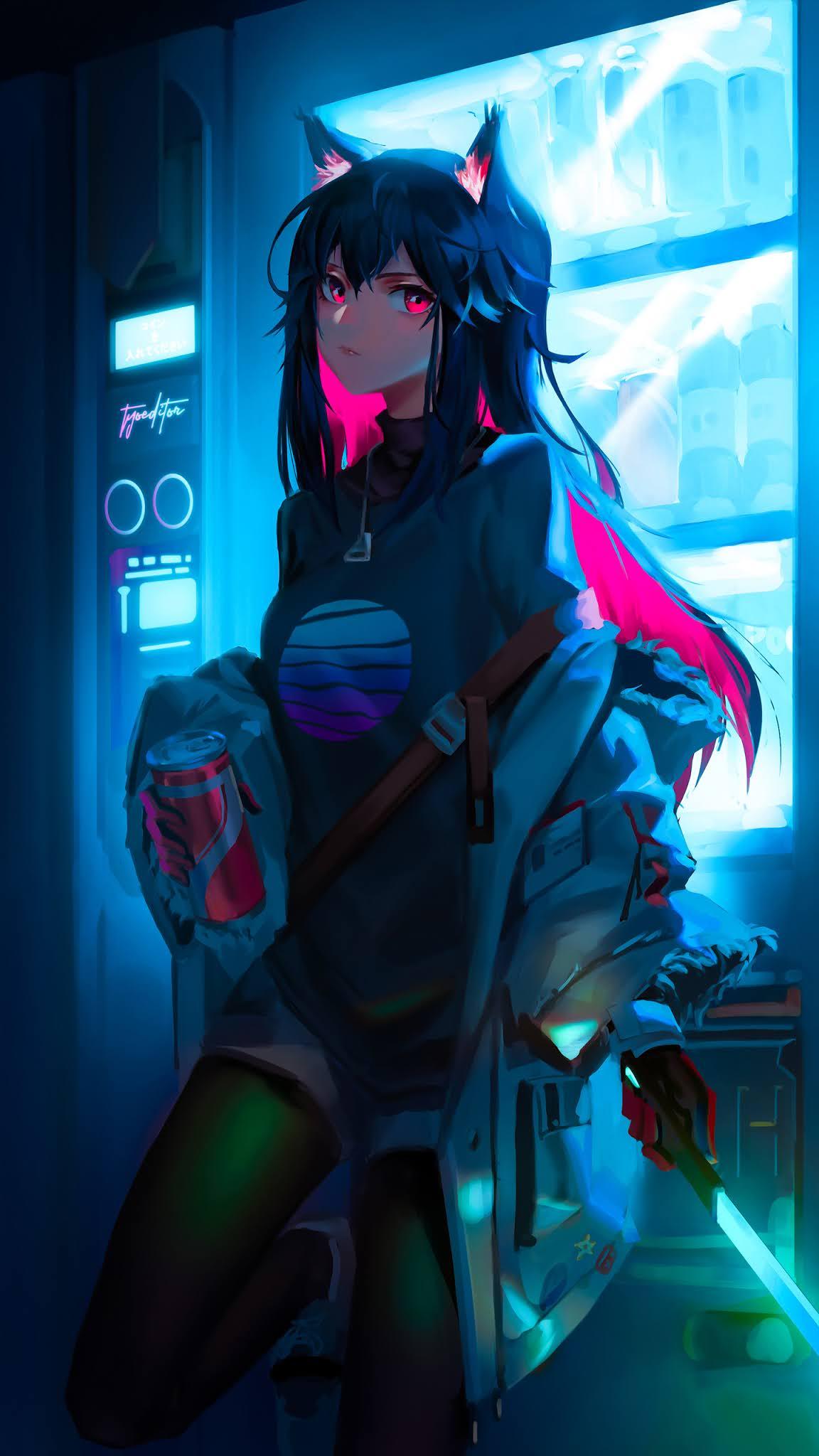 Arknights anime girl mobile wallpaper