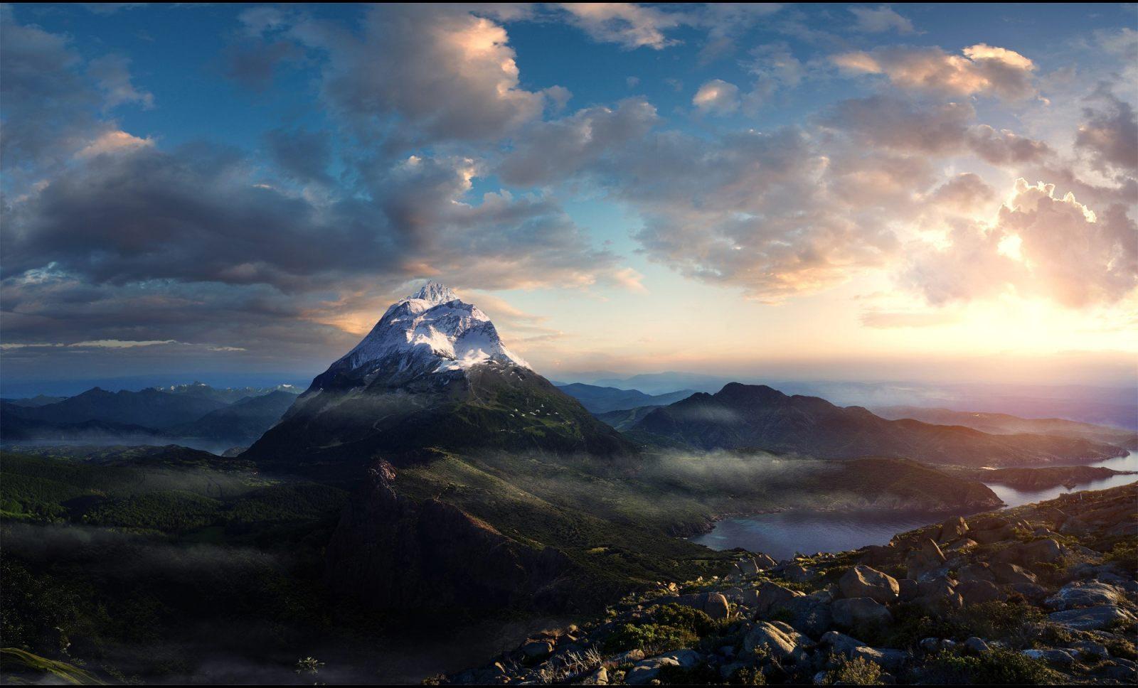 Top Free 1080x1080 Backgrounds: Montañas Sagradas