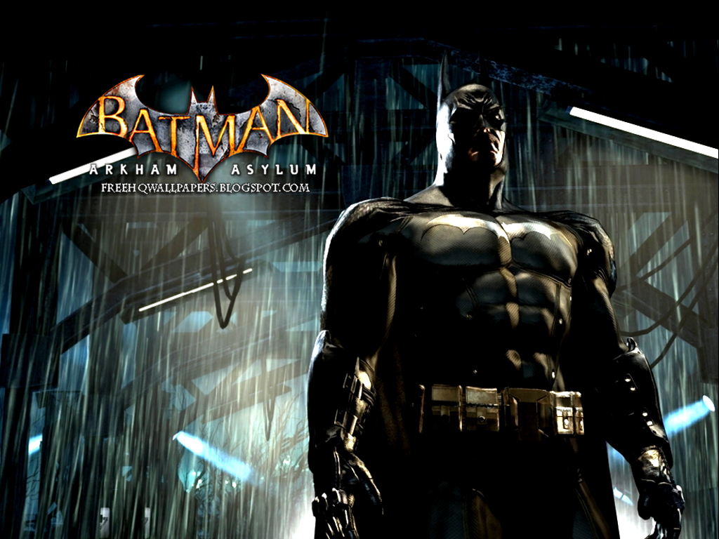 Batman Arkham Asylum Wallpaper: Batman Arkham Asylum HQ