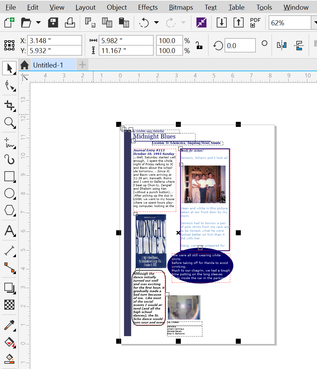 Microsoft Publisher Files And Coreldraw X8 Part 2 Unsolicited But