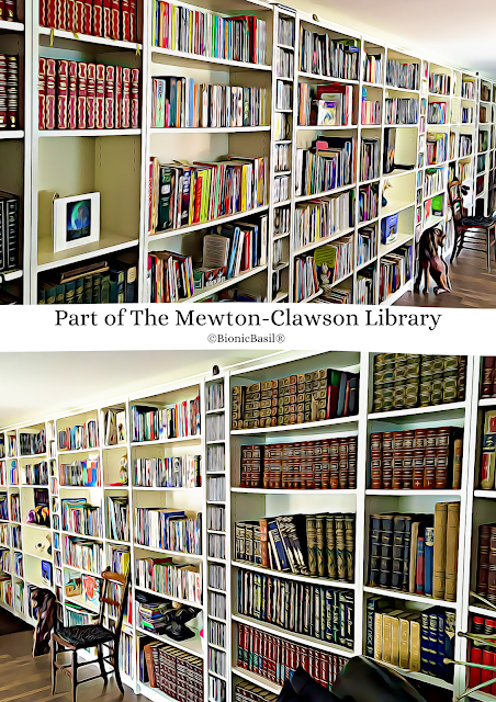 Part of The Mewton-Clawson Library ©BionicBasil®