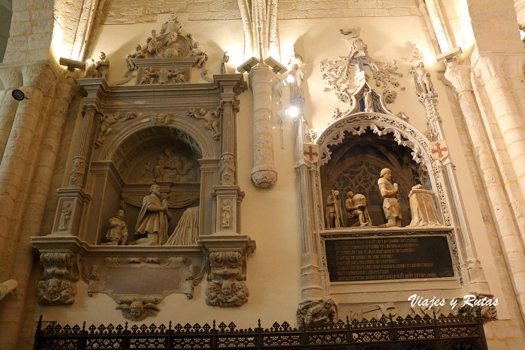Panteón de los Condes de Buendía, Dueñas