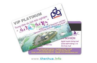 Mẫu thẻ VIP dành cho khách hàng thường xuyên