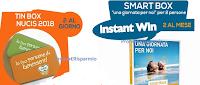 Logo Nucis concorso ''Top 30 g. Trova lo snack del Benessere'': gioca e vinci gratis Tin-Box e Smartbox