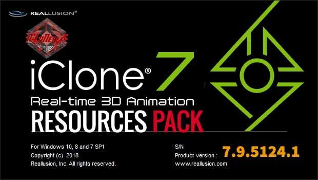 ICLONE 7.9 RESOURCES PACK