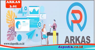 Download Aplikasi ARKAS Versi 3.01