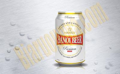 Bia lon Hanoi premium