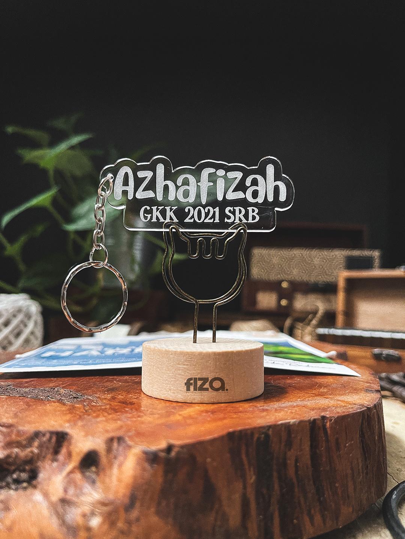 custom made acrylic keychain