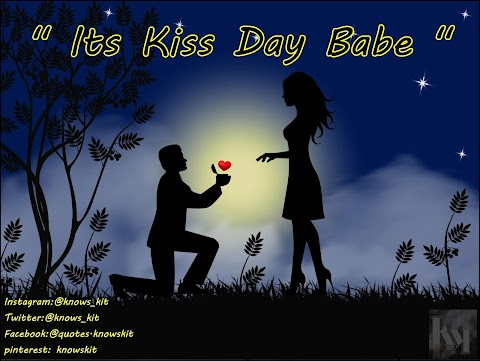 Kiss Day 2020 Quotes | Images With Quotes And Wallpaper