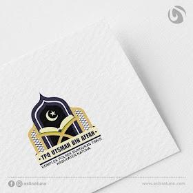 Desain Logo TPQ Utsman Bin Affan