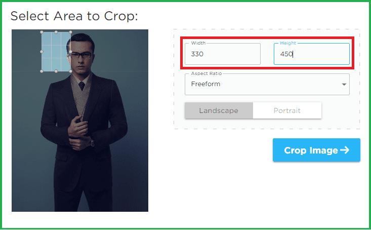 Cara Crop Foto Jadi 4x6 3x4 2x3 Ukuran Resmi Secara Online Tanpa Software Ekorkode Com