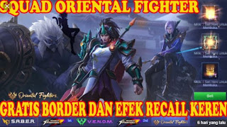 Cara Mendapatkan Efek Recall Oriental Fighter Permanen