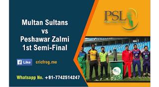 PSZ vs MS Dream11 Prediction: Peshawar Zalmi vs Multan Sultans Best Dream11 Team for Semi Final T20 Match