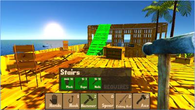 Free Download Raft Survival Simulator MOD APK 1.5 (Unlimited Money)
