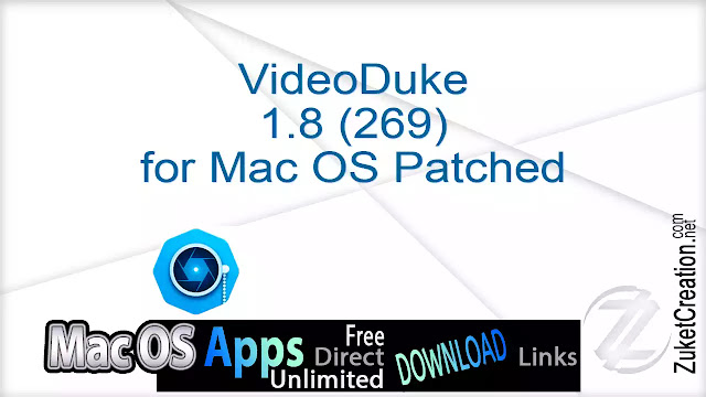 VideoDuke 1.8 (269) for Mac OS Patched