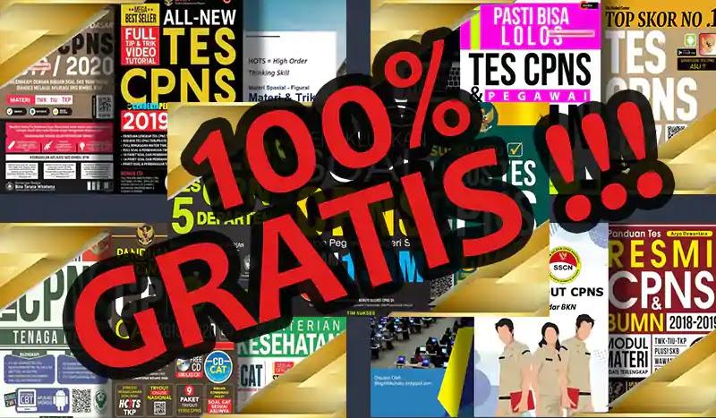 Download Ebook CPNS 100% Gratis dan Terlengkap