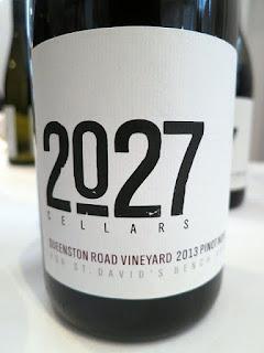 2027 Cellars Queenston Road Vineyard Pinot Noir 2013 (90+ pts)