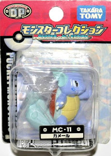Wartortle new pose Pokemon figure Takara Tomy Monster Collection MC series
