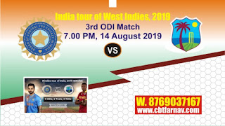 India vs West Indies 3rd ODI Match Prediction Today