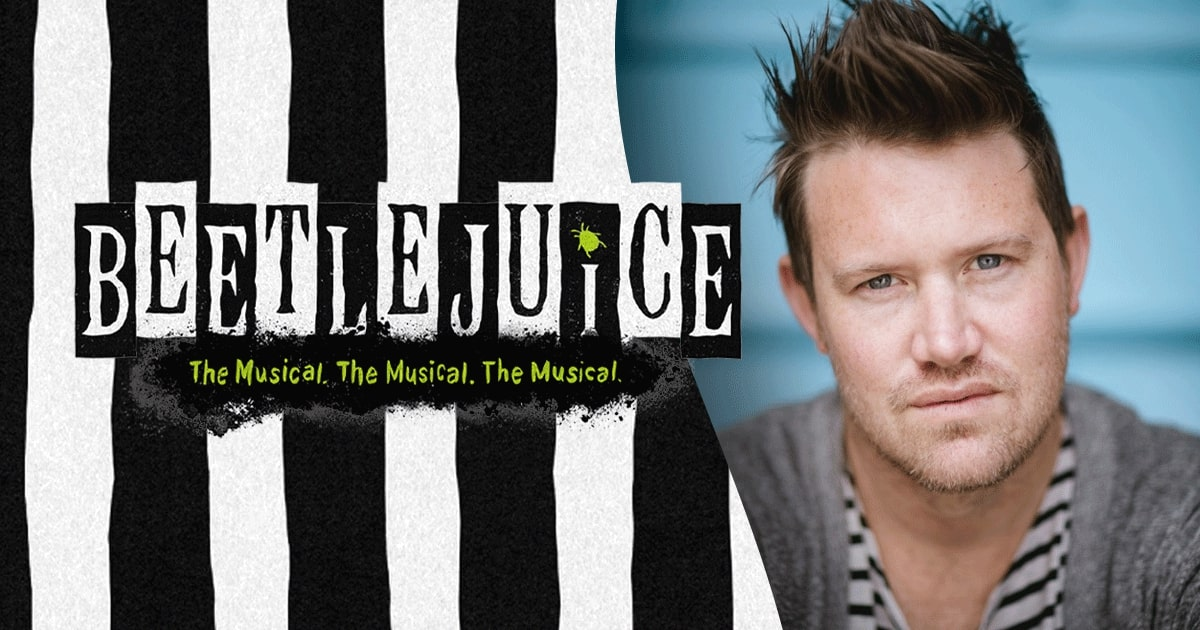 Interview with Beetlejuice The Musical Writer Eddie Perfect