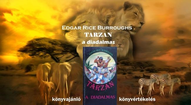 Tarzan a diadalmas könyvajánló, könyvértékelés