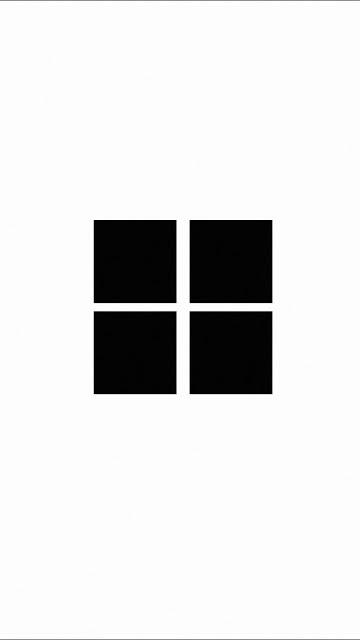 HD Wallpaper Minimalist Windows Logo White