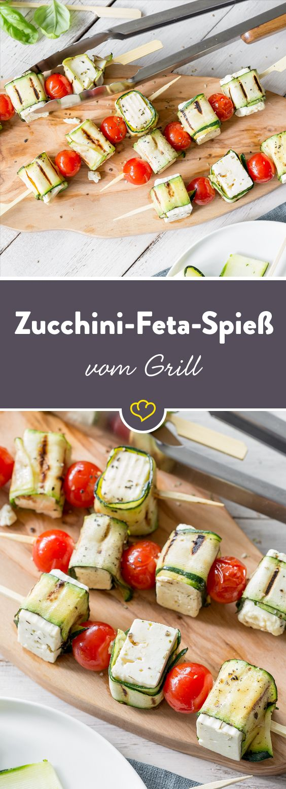 Zucchini-Feta-Spieße vom #Grill   #DESSERTS #HEALTHYFOOD #EASYRECIPES #DINNER #LAUCH #DELICIOUS #EASY #HOLIDAYS #RECIPE #SPECIALDIET #WORLDCUISINE #CAKE #APPETIZERS #HEALTHYRECIPES #DRINKS #COOKINGMETHOD #ITALIANRECIPES #MEAT #VEGANRECIPES #COOKIES #PASTA #FRUIT #SALAD #SOUPAPPETIZERS #NONALCOHOLICDRINKS #MEALPLANNING #VEGETABLES #SOUP #PASTRY #CHOCOLATE #DAIRY #ALCOHOLICDRINKS #BULGURSALAD #BAKING #SNACKS #BEEFRECIPES #MEATAPPETIZERS #MEXICANRECIPES #BREAD #ASIANRECIPES #SEAFOODAPPETIZERS #MUFFINS #BREAKFASTANDBRUNCH #CONDIMENTS #CUPCAKES #CHEESE #CHICKENRECIPES #PIE #COFFEE #NOBAKEDESSERTS #HEALTHYSNACKS #SEAFOOD #GRAIN #LUNCHESDINNERS #MEXICAN #QUICKBREAD #LIQUOR