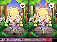 Help blossom #Emma and #Liliths platonic friendship in this #SpotTheDifference #ValentinesGame!