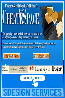 Unique gig offering full services format Design and format your book interior for createspace kindle