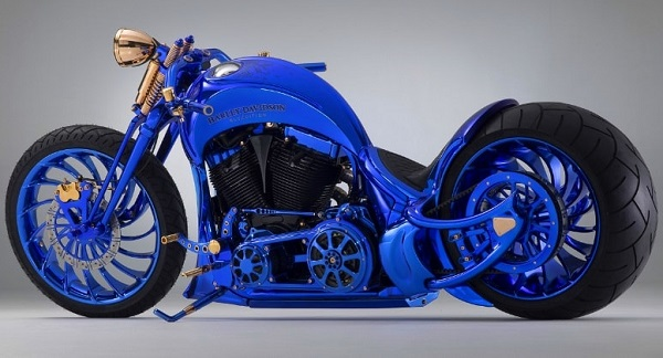 Harley-Davidson Buchered Blue Edition