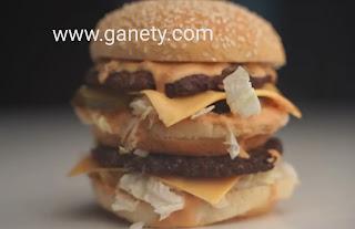 طريقة عمل برجر بيج ماك بصوص ماكدونالدز الاصلي