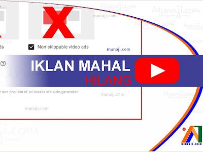 Wah ! Kabar Buruk Untuk YouTuber di 2020 (Iklan Harga Mahal di Blokir)