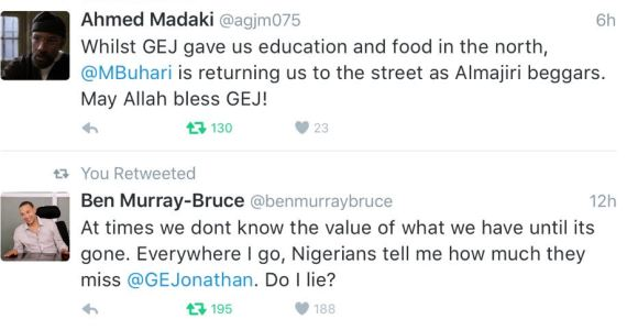 , Stunning Tweets About Former Nigerian President 'At times we don't know the value of what we have until its gone', Latest Nigeria News, Daily Devotionals & Celebrity Gossips - Chidispalace