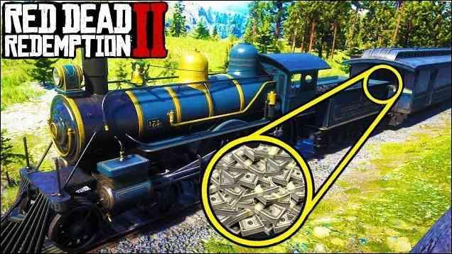 Mendapatkan Uang Red Dead Redemption 2 Kereta_6