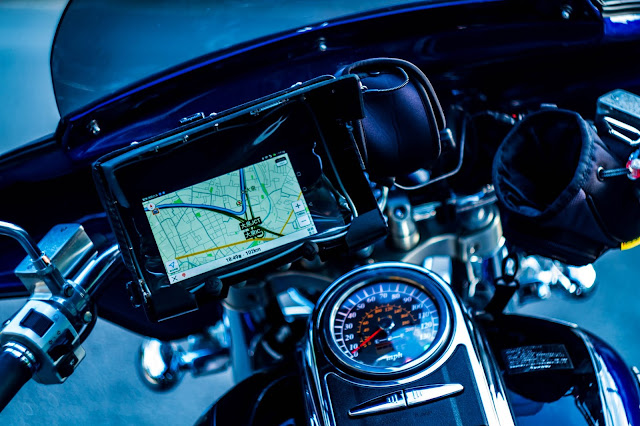 GPS Android Tablet PC Navigation System for Motorcycle
