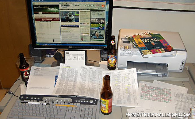 Fantasy Football Draft desk
