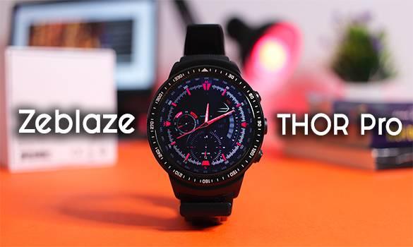 معاينة الساعة الذكية الخرافية Zeblaze Thor Pro