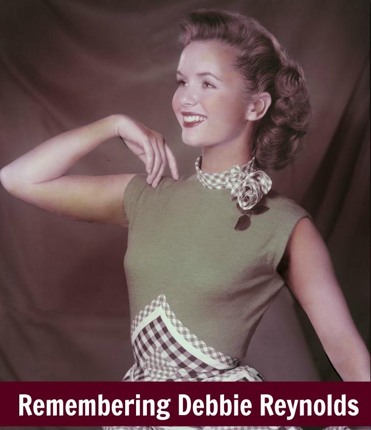A Vintage Nerd, Debbie Reynolds, Old Hollywood Blog, Classic Film Blog