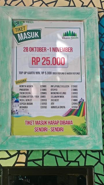 Harga Tiket Masuk Dusun Semilir : harga, tiket, masuk, dusun, semilir, Dusun, Semilir, Review, Permata, Pengalamanku, Lifestyle, Blogger