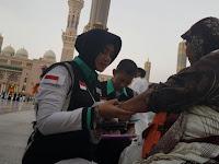 Dedikasi Serma Rizqy Kamila Dalam Melayani Jamaah Haji