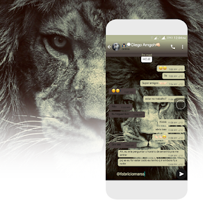Lion Theme For YOWhatsApp & GB WhatsApp