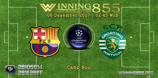 Prediksi Akurat Barcelona vs Sporting Lisbon 06 Desember 2017