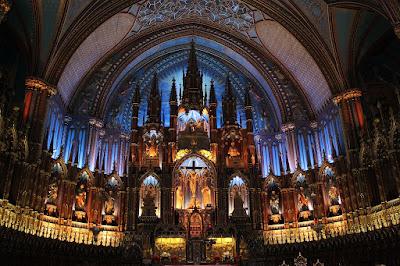 Basilica de Notre-Dame Montreal