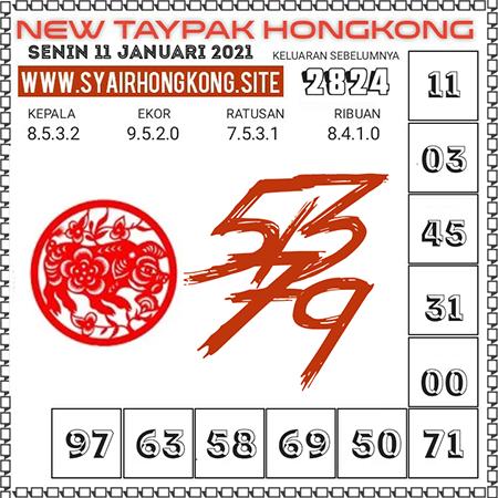 Prediksi Togel New Taypak Hongkong Senin 11 Januari 2021