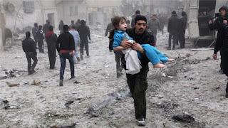 Rezim Syiah Nushairiyah Terus Bombardir Idlib, Bunuh Anak-Anak Suriah Tak Bersalah