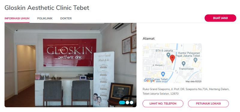 Gloskin Aesthetic Clinic Tebet