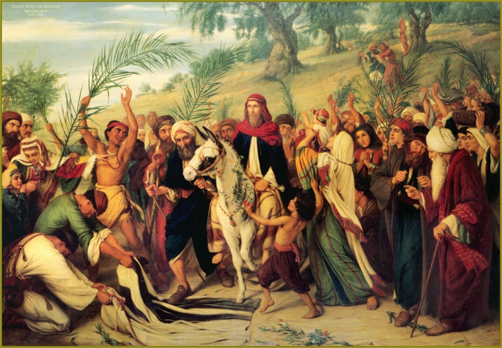 Conscientious Catholic PALM SUNDAY
