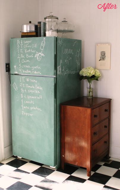 diy relooker le frigo simplette. Black Bedroom Furniture Sets. Home Design Ideas