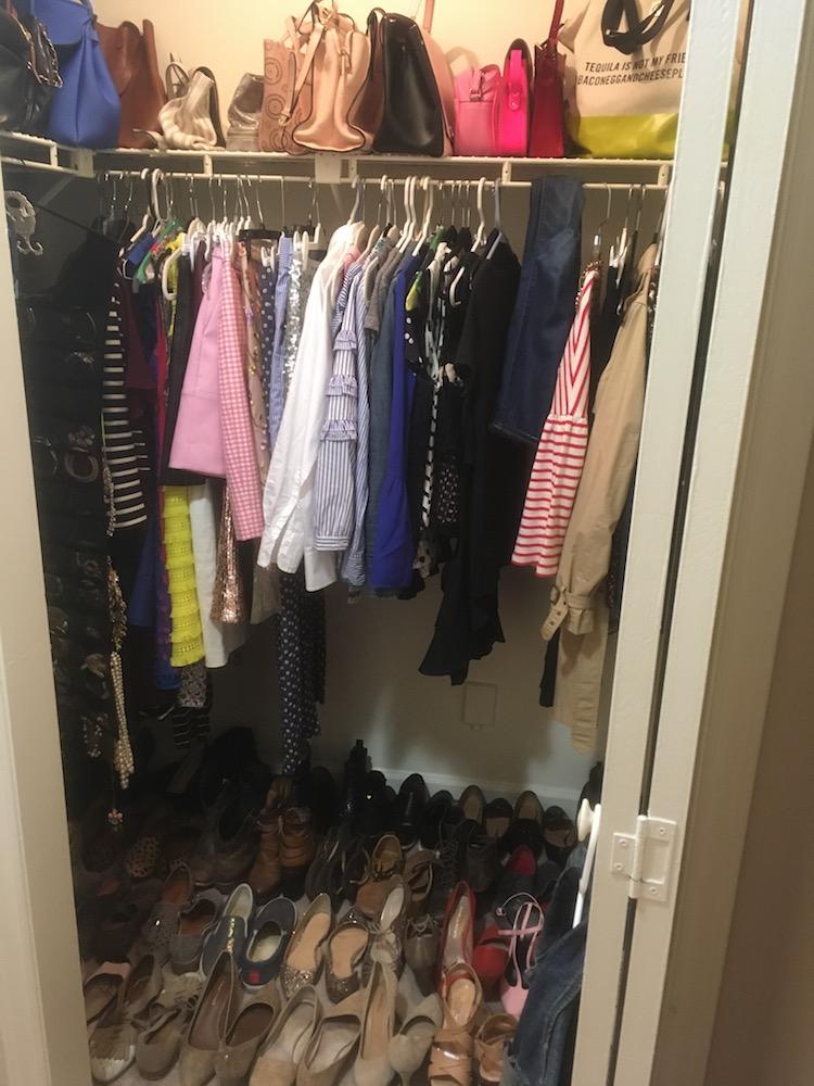 How I Organize My Closet