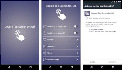 Aplikasi Double Tap